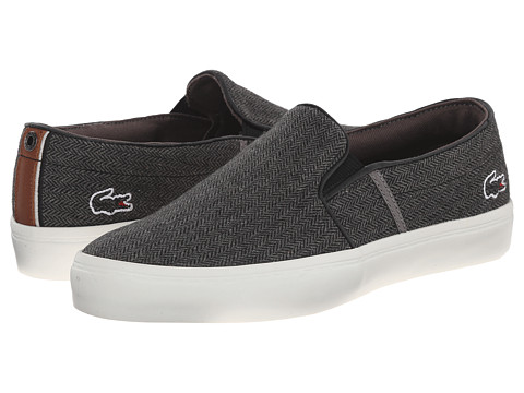 Lacoste - Gazon W4 (Dark Grey) Women's Slip on Shoes