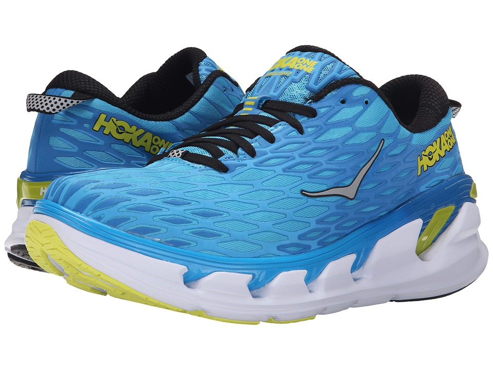Hoka One One - Vanquish 2 (Cyan/Citrus) Men's Running Shoes