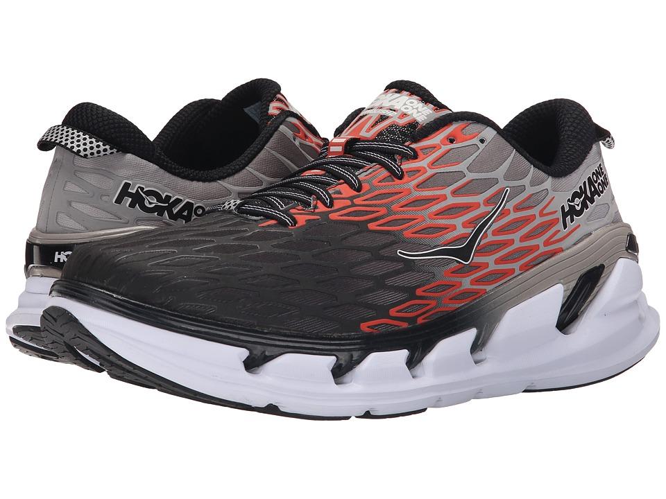 Hoka One One - Vanquish 2 (Grey/Orange Flash) Men's Running Shoes