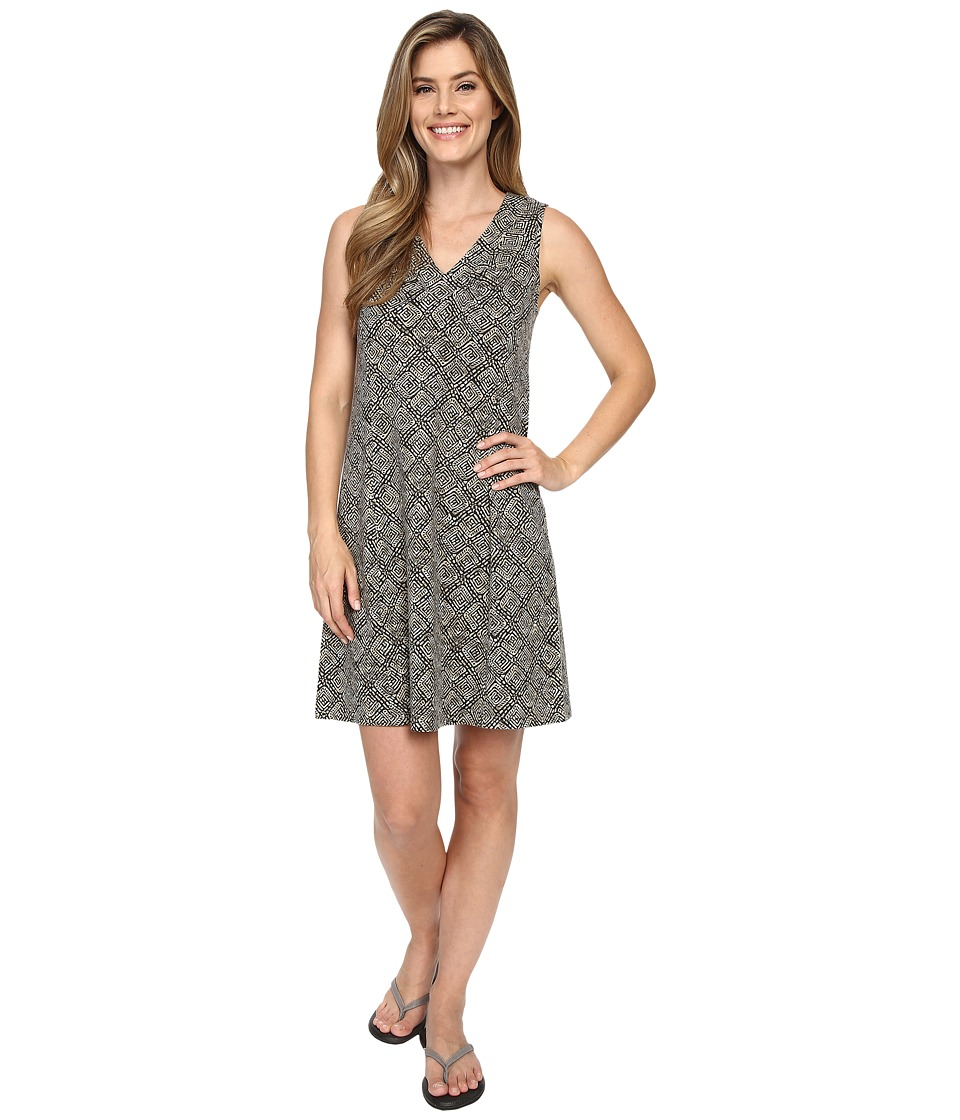 Royal Robbins - Essential Tie-Diamond Dress (Taupe) Women's Dress