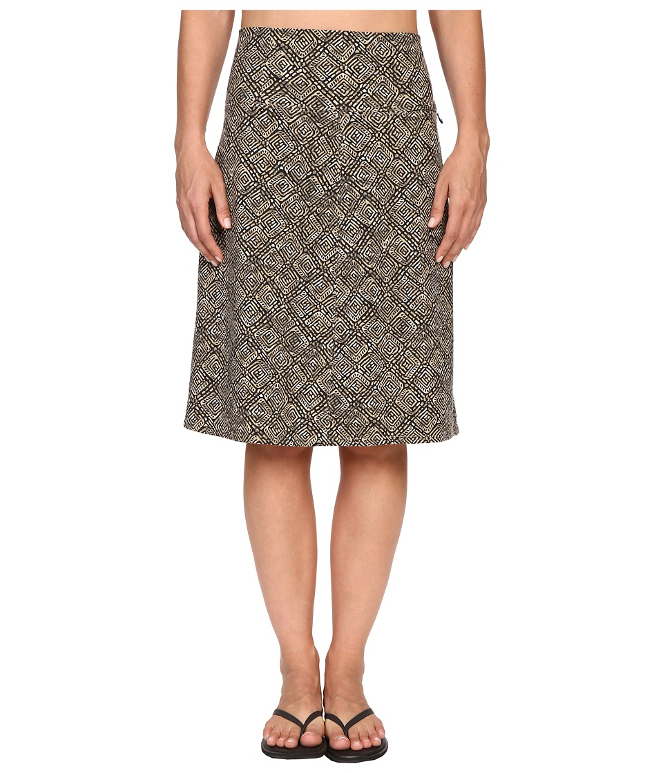 Royal Robbins - Essential Tie-Diamond Skirt (Taupe) Women's Skirt