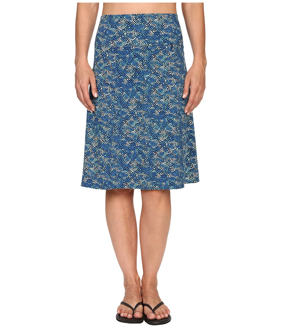 Royal Robbins - Essential Tie-Diamond Skirt (Dark Lapis) Women's Skirt