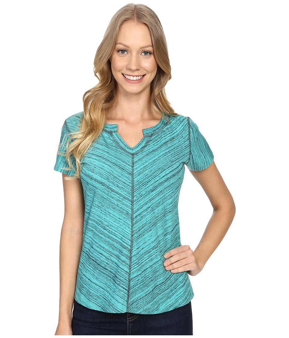 Kuhl - Alisse Top (Mountain Jade) Women's Short Sleeve Pullover