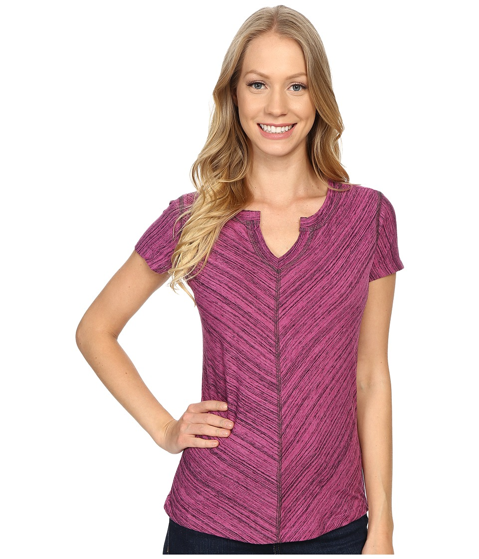 Kuhl - Alisse Top (Wild Rose) Women's Short Sleeve Pullover
