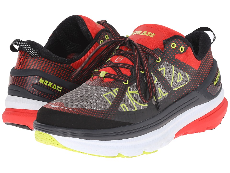 Hoka One One - Constant 2 (Grey/Poppy Red) Men's Running Shoes