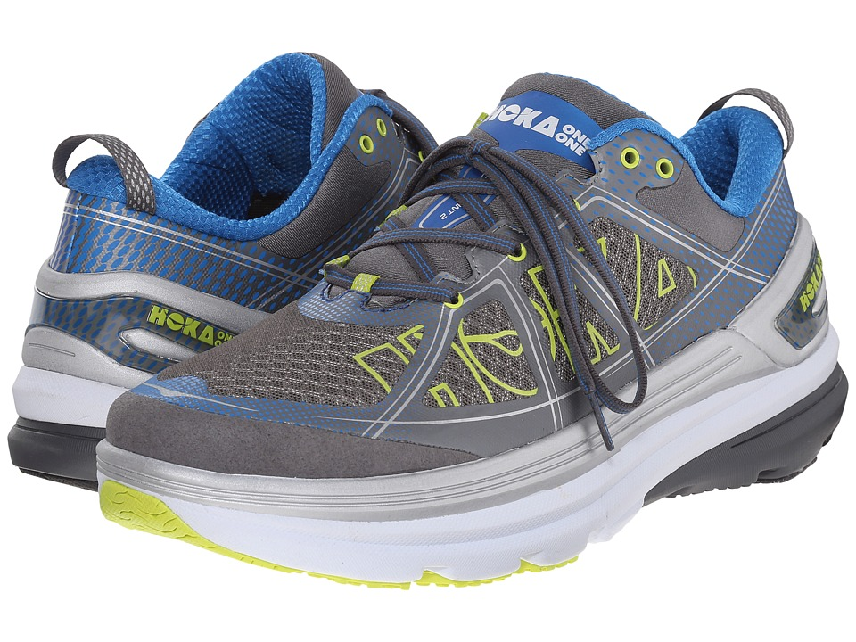 Hoka One One - Constant 2 (Grey/Directoire Blue) Men's Running Shoes