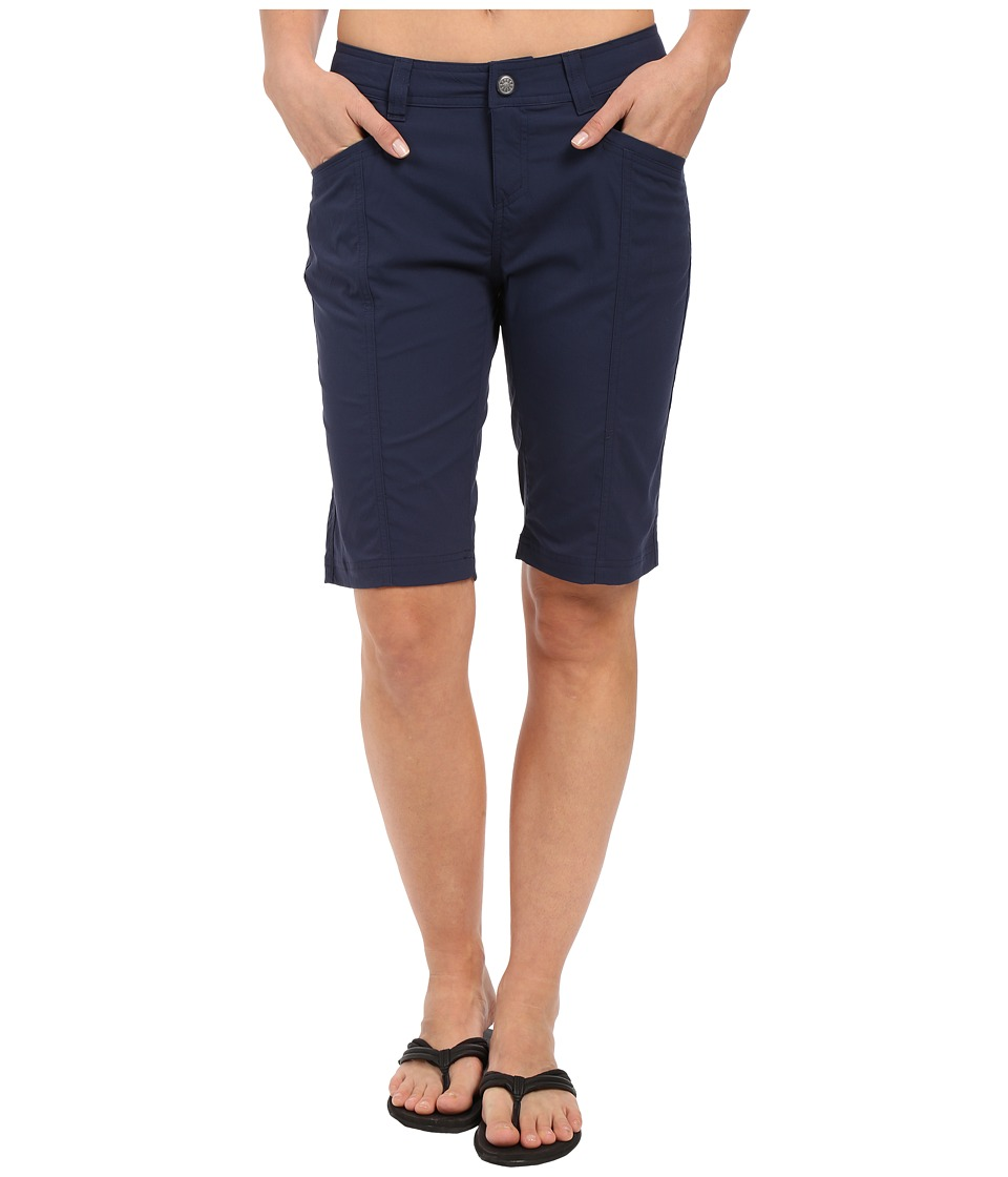 Royal Robbins - Discovery Bermuda (Deep Blue) Women's Shorts