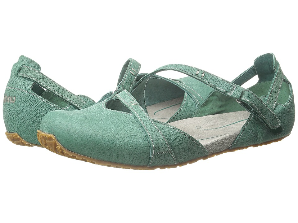 Ahnu - Tullia (Dusty Teal) Women's Slip on Shoes