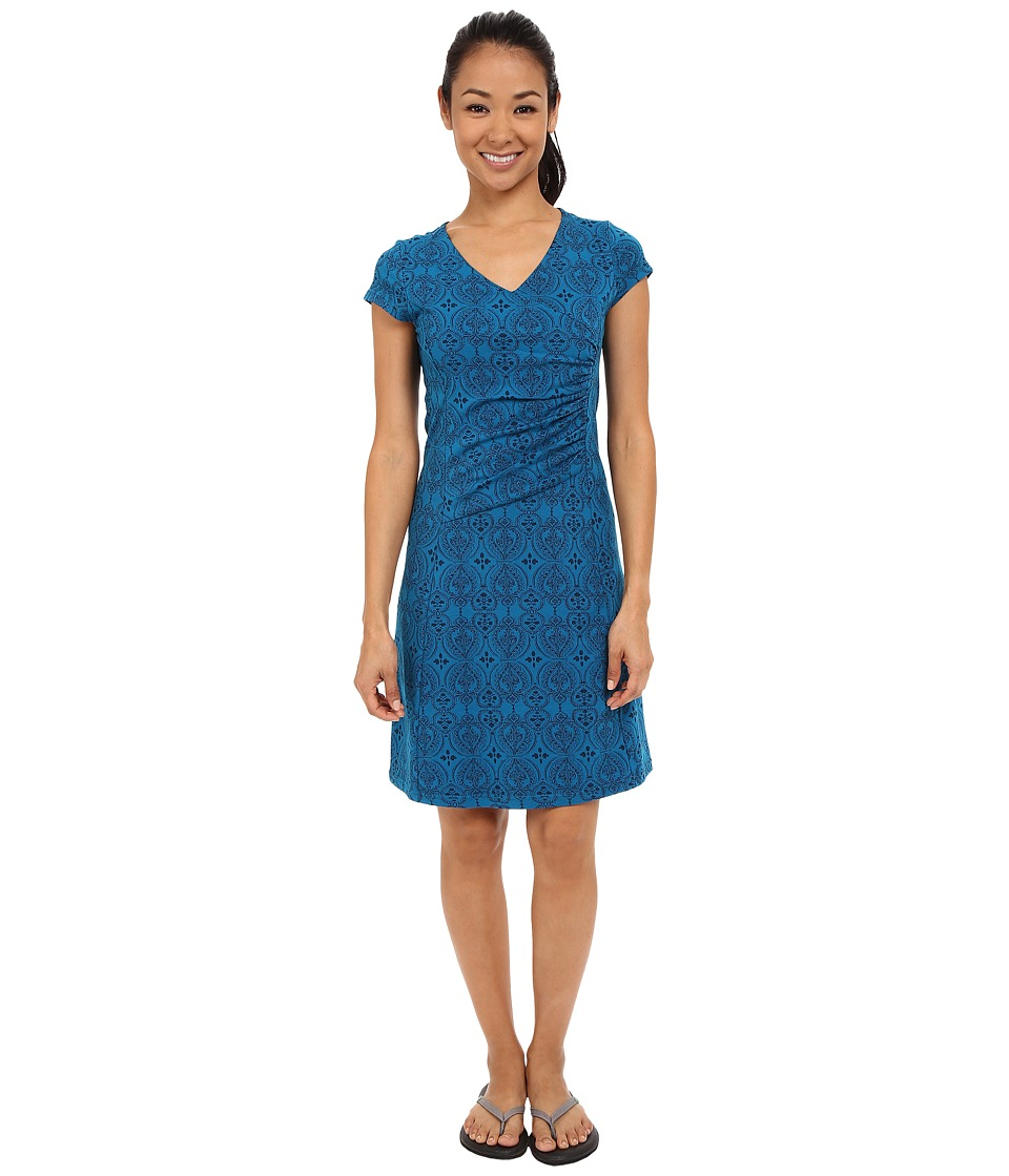 Kuhl - Verona Dress (Seaport/Swiss Blue Print) Women's Dress