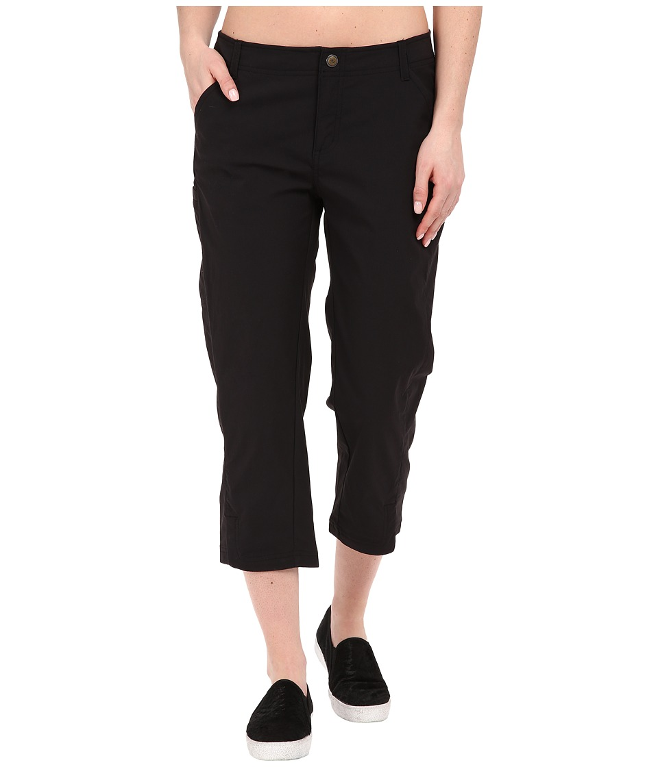 Royal Robbins - Discovery Capri Pants (Jet Black) Women's Capri plus size,  plus size fashion plus size appare