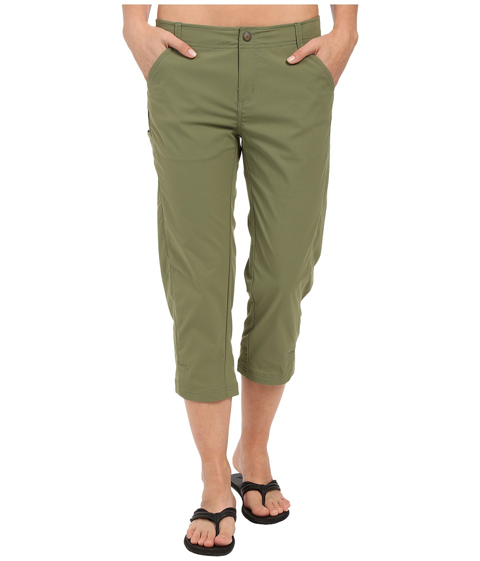 Royal Robbins Discovery Capri Pants (Aloe) Women