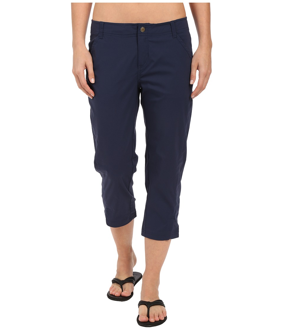 Royal Robbins - Discovery Capri Pants (Deep Blue) Women's Capri