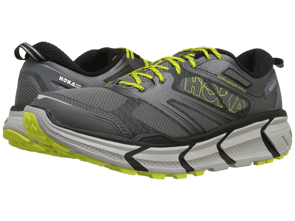 Hoka One One - Challenger ATR 2 (Grey/Citrus) Men's Running Shoes