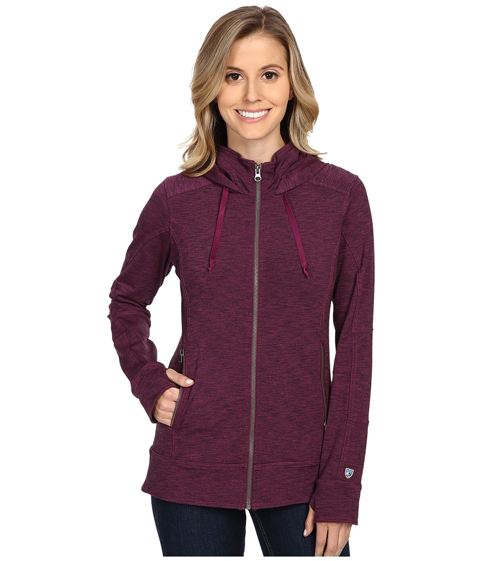 Kuhl - Mova Hoodie (Orchid Heather) Women's Sweatshirt