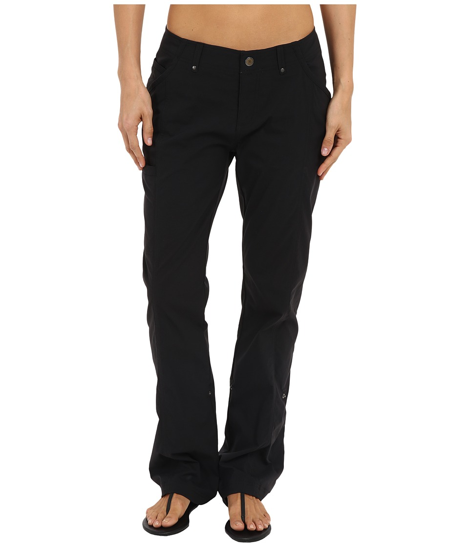 Royal Robbins - Discovery Roll Up Pants (Jet Black) Women's Casual Pants