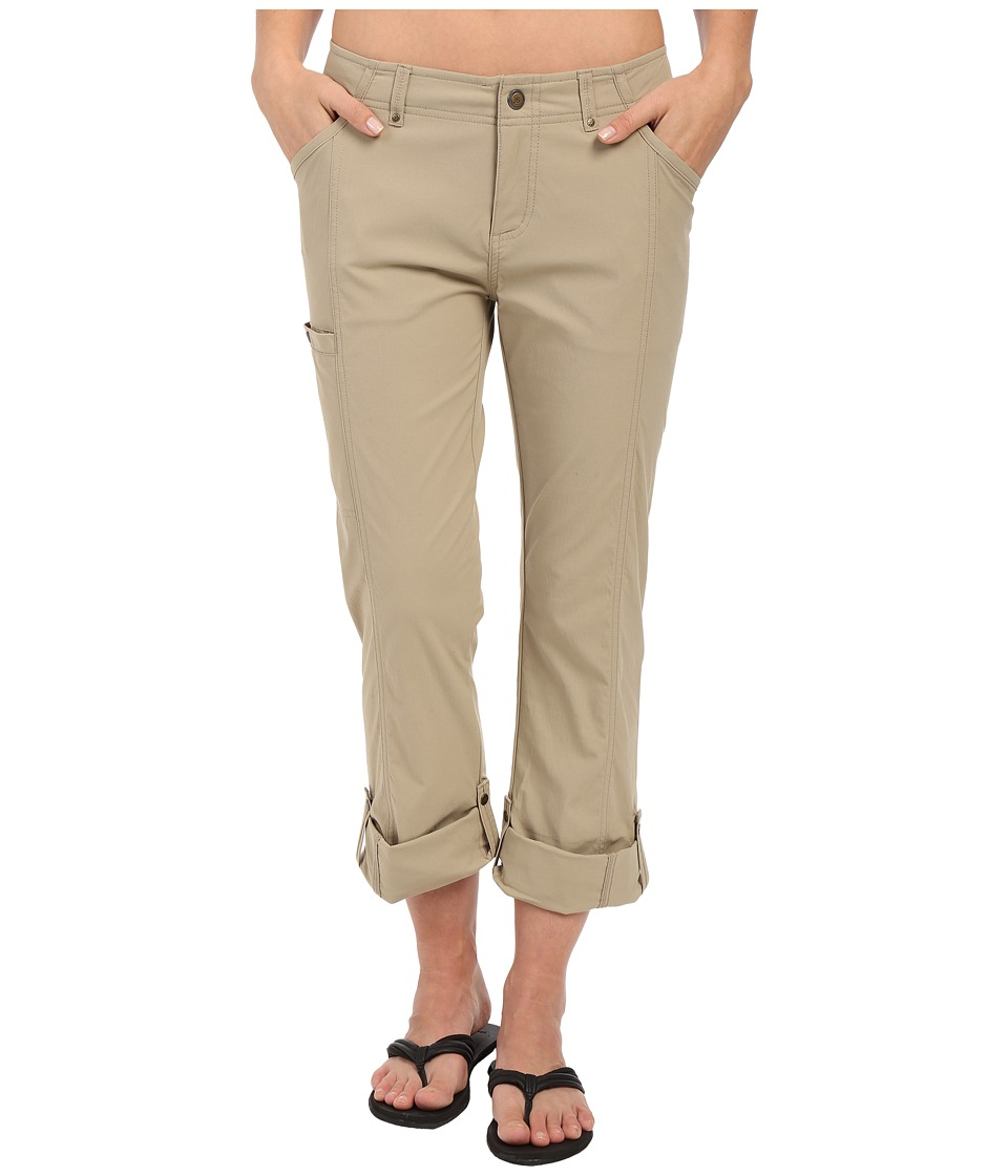 Royal Robbins - Discovery Roll Up Pants (Khaki) Women's Casual Pants