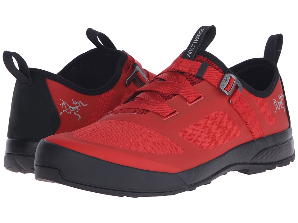 Arc'teryx - Arakys Approach Shoe (Vermillion/Vermillion) Men's Shoes