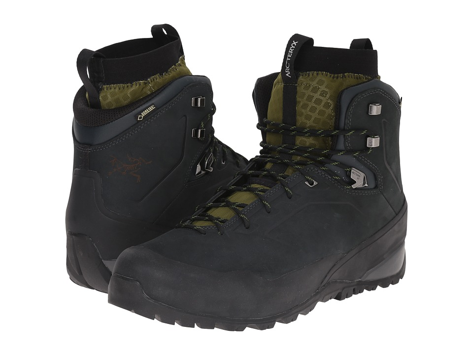 Arc'teryx - Bora Mid Leather GTX Hiking Boot (Deep Dusk Arc/Bonsai Arc) Men's Shoes