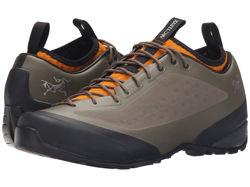 Arc'teryx - Acrux FL (Dark Greystone Arc/Amber Arc) Men's Shoes