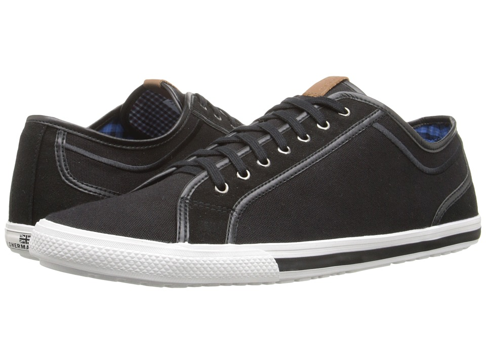 Ben Sherman - Chandler Lo (Jet Black) Men's Lace up casual Shoes