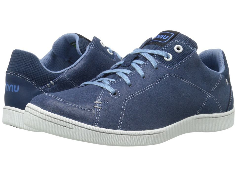 Ahnu - Noe Leather (Blue Spell) Women's Lace up casual Shoes