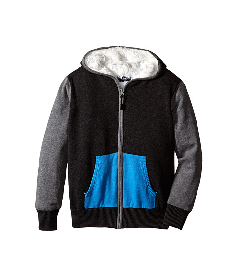 Toobydoo - The Tony Fleece Lined (Infant/Toddler/Little Kids/Big Kids) (Navy/Grey) Boy's Coat