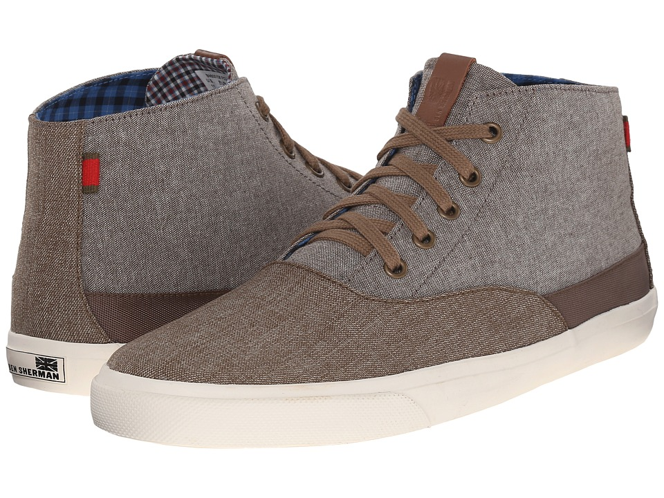 Ben Sherman - Pete Hi (Chestnut) Men's Shoes