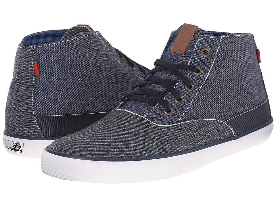Ben Sherman - Pete Hi (Navy Blazer) Men's Shoes