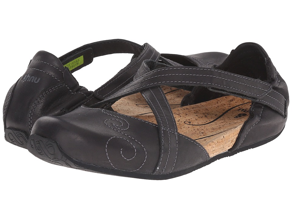 Ahnu - Karma Latitude Leather (Black) Women's Shoes