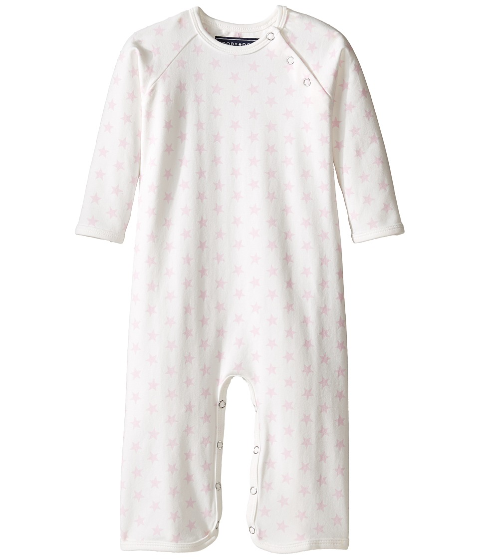 Toobydoo - Pink Star Bootcut Jumpsuit (Infant) (Light Pink) Girl's Jumpsuit & Rompers One Piece