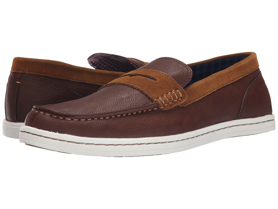 Ben Sherman - Parnell Loafer (Cognac) Men's Slip on Shoes