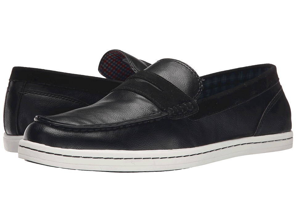 Ben Sherman - Parnell Loafer (Black) Men's Slip on Shoes