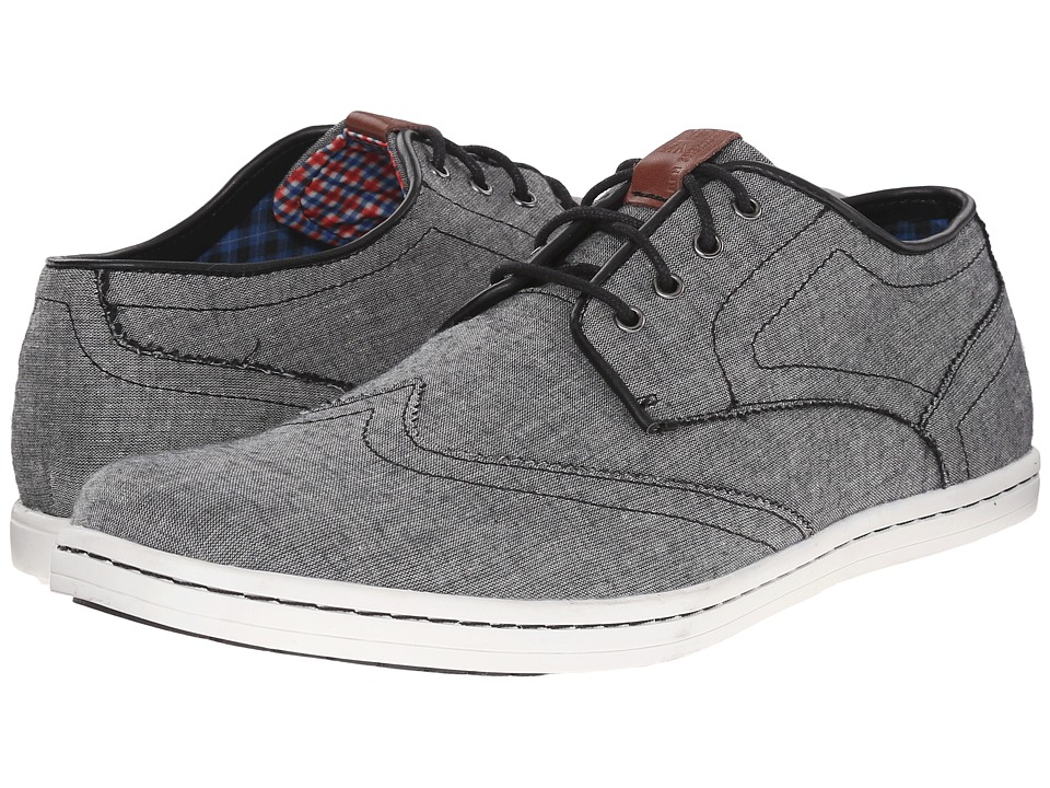Ben Sherman - Nicholas (Black Chambray) Men's Shoes