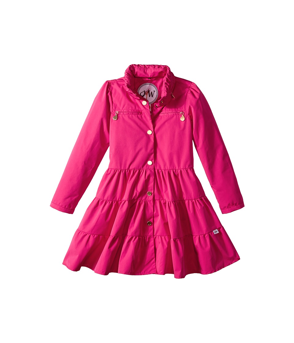 Oil & Water - Twirl Coat (Toddler/Little Kids/Big Kids) (Berry) Girl's Coat