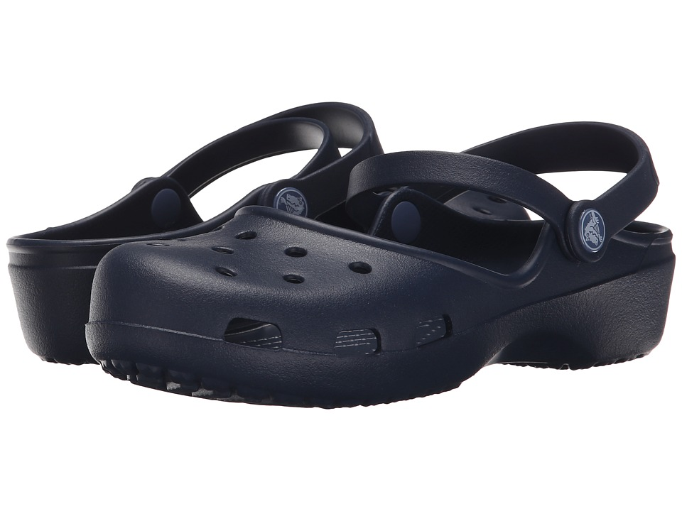 Crocs - Karin Clog (Navy) Women's Clog Shoes