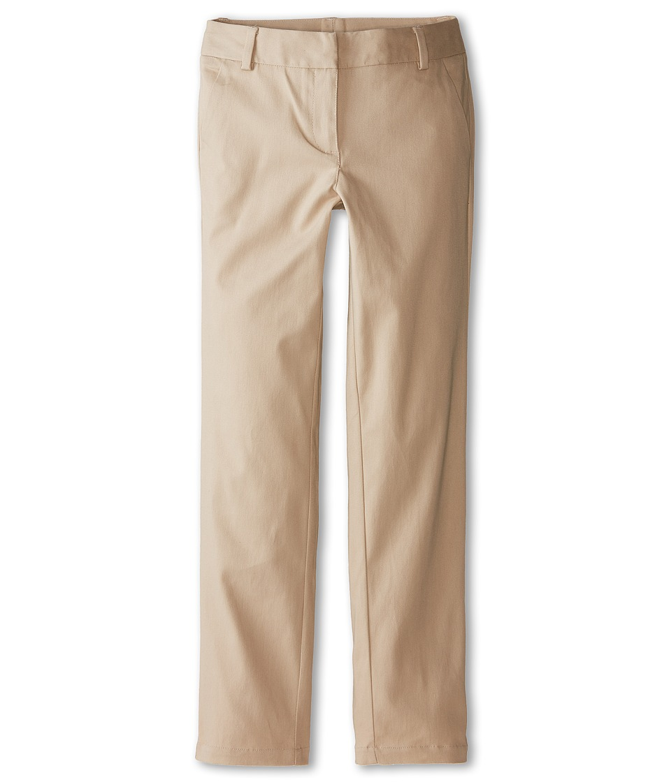 Nautica Kids - Stretch Twill Skinny Pants (Big Kids) (Su Khaki) Girl's Casual Pants