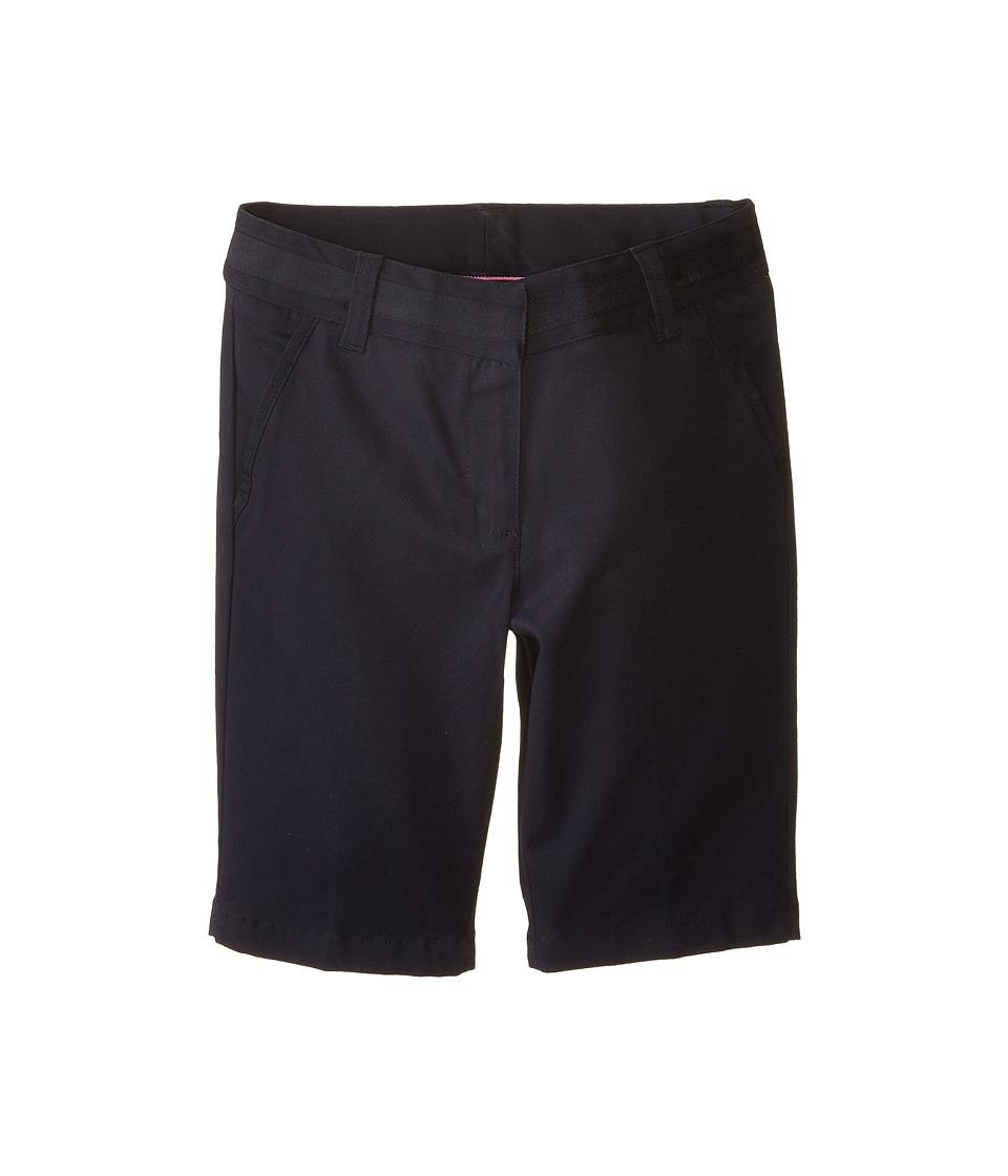Nautica Kids - Skinny Bermuda Shorts with Adjustable Waistband (Big Kids) (Su Navy) Girl's Shorts
