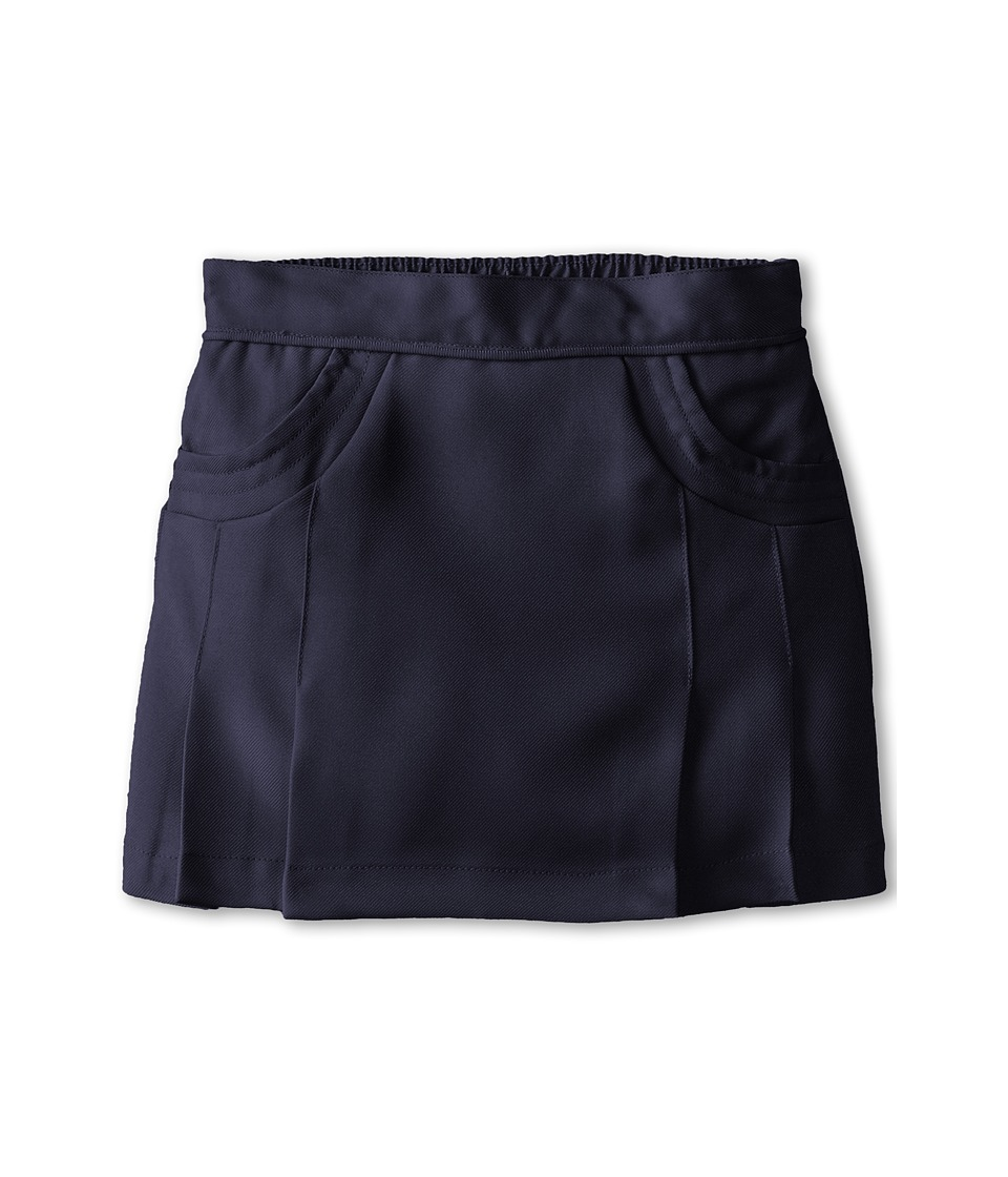Nautica Kids - Poly Scooter/Skort with Scoop Pockets (Little Kids) (Su Navy) Girl's Skort