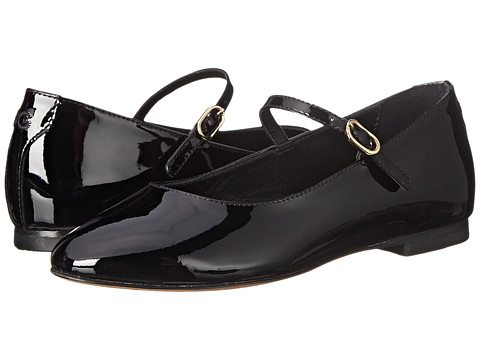 Dolce & Gabbana - Patent Mary Jane (Little Kid) (Black 1) Women