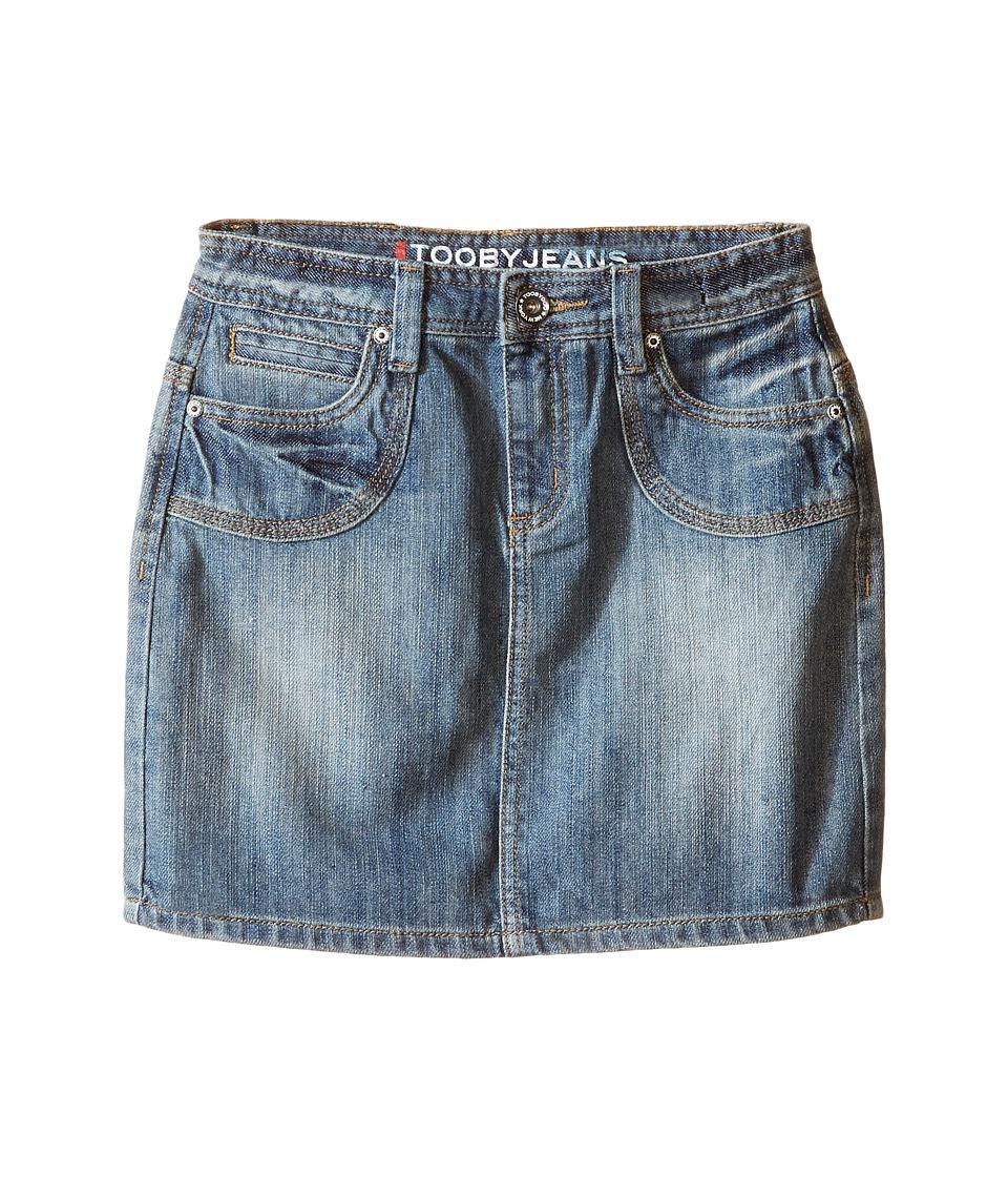 Toobydoo - Tooby Jeans - Skirt (Toddler/Little Kids/Big Kids) (Denim) Girl's Skirt