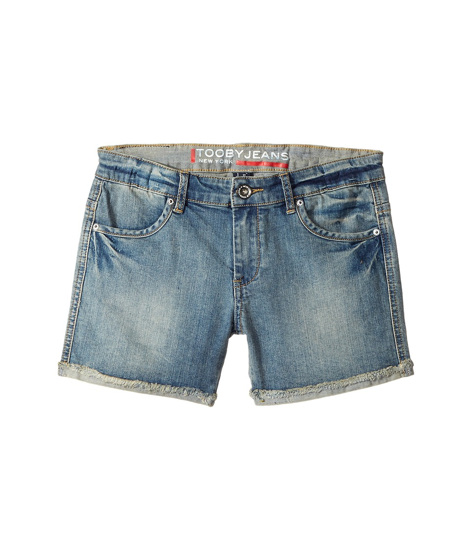 Toobydoo - Tooby Jeans - Shorts in Denim (Toddler/Little Kids/Big Kids) (Denim) Girl's Shorts