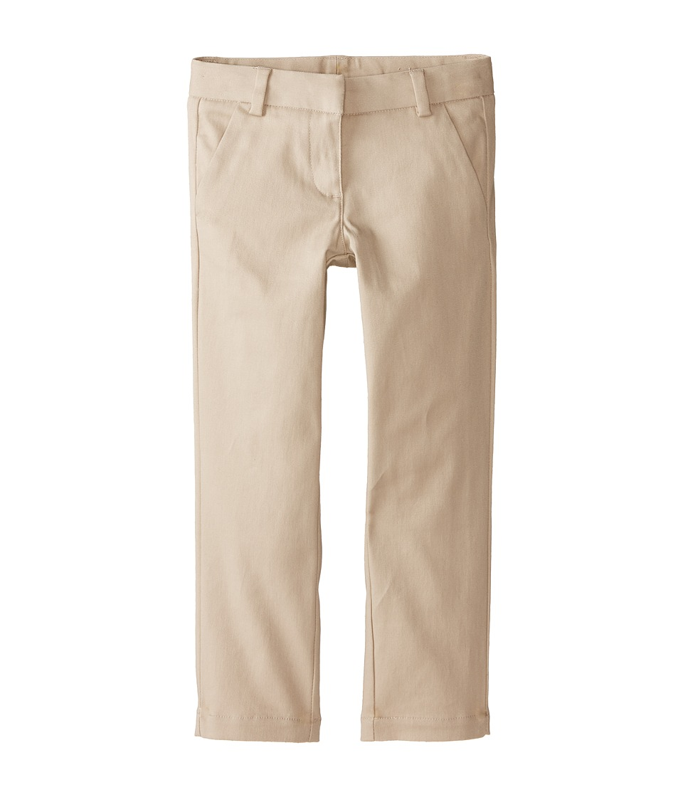 Nautica Kids - Stretch Twill Skinny Pants (Little Kids) (Su Khaki) Girl's Casual Pants