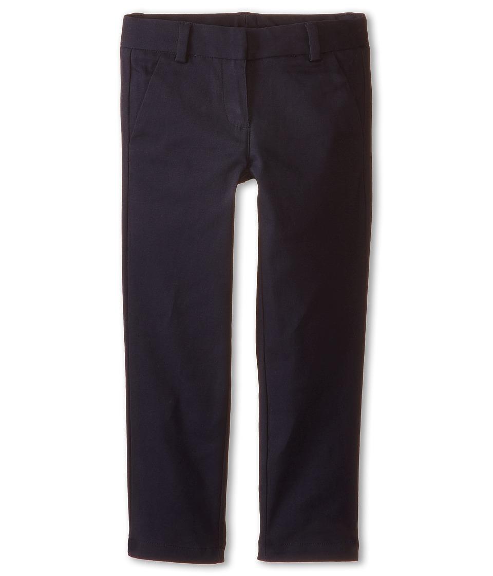 Nautica Kids - Stretch Twill Skinny Pants (Little Kids) (Su Navy) Girl's Casual Pants