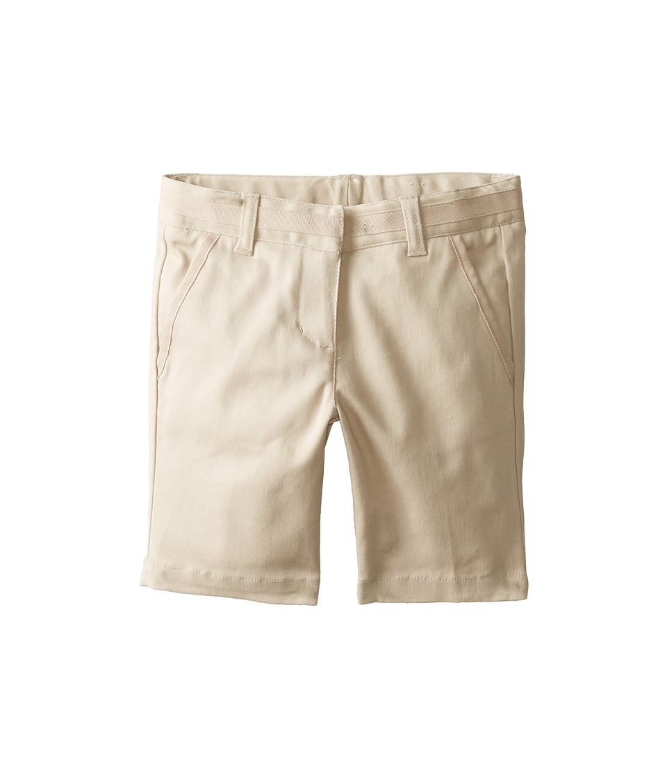 Nautica Kids - Skinny Bermuda Shorts with Adjustable Waistband (Su Khaki) Girl's Shorts