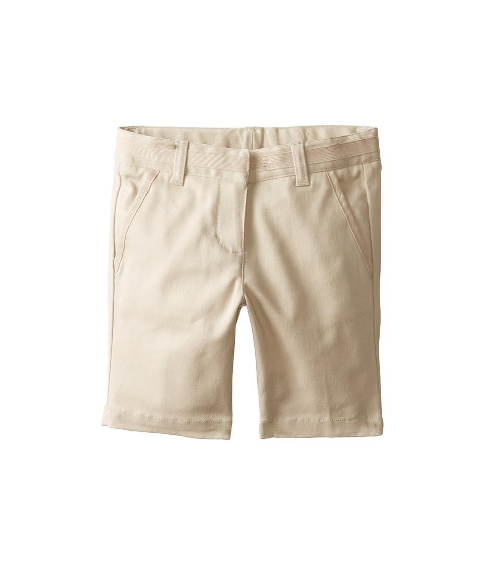 Nautica Kids - Skinny Bermuda Shorts with Adjustable Waistband (Su Khaki) Girl's Shorts