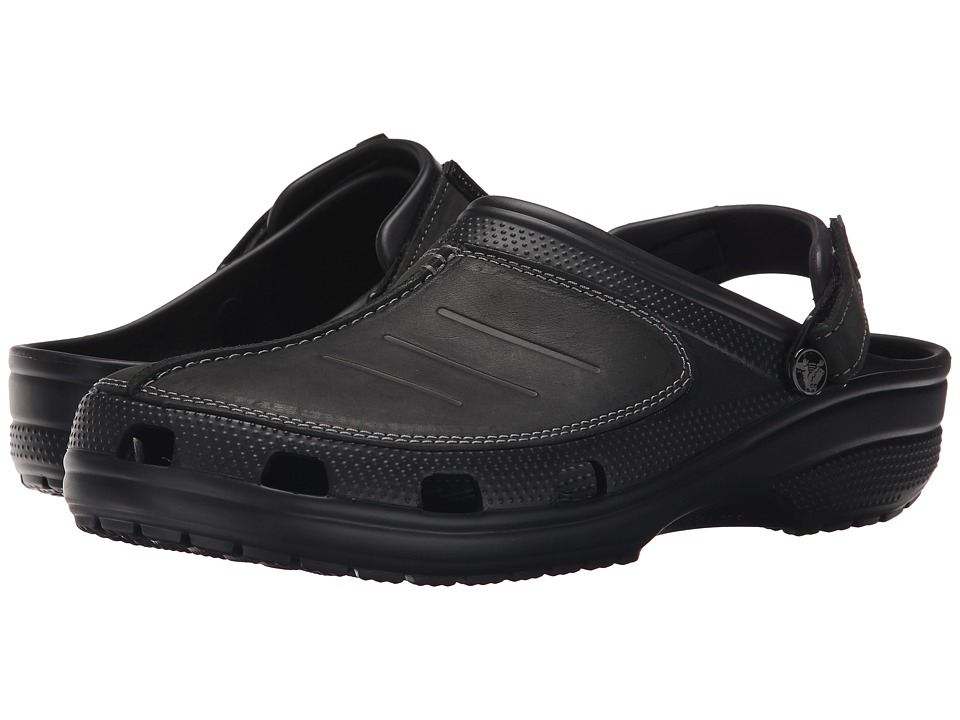 Crocs - Yukon Mesa Clog (Black/Black) Men's Clog Shoes