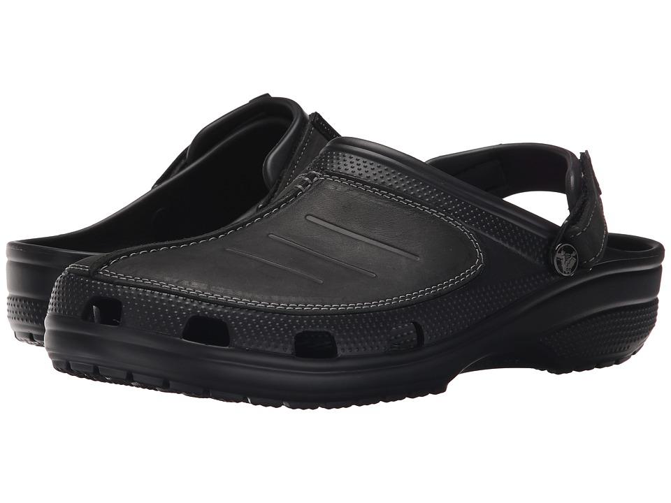 Crocs - Yukon Mesa Clog (Black/Black) Men's Clog Shoes