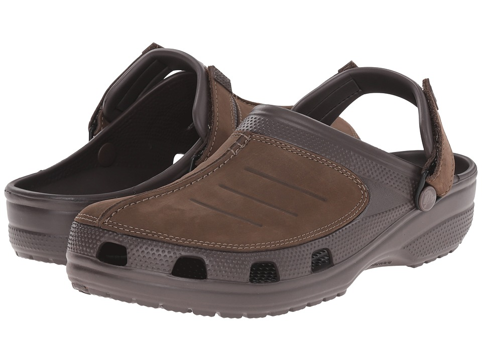 Crocs - Yukon Mesa Clog (Espresso/Espresso) Men's Clog Shoes
