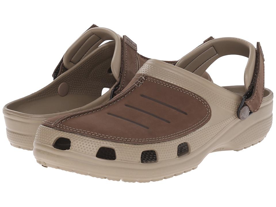 Crocs Yukon Mesa Clog (Khaki/Espresso) Men