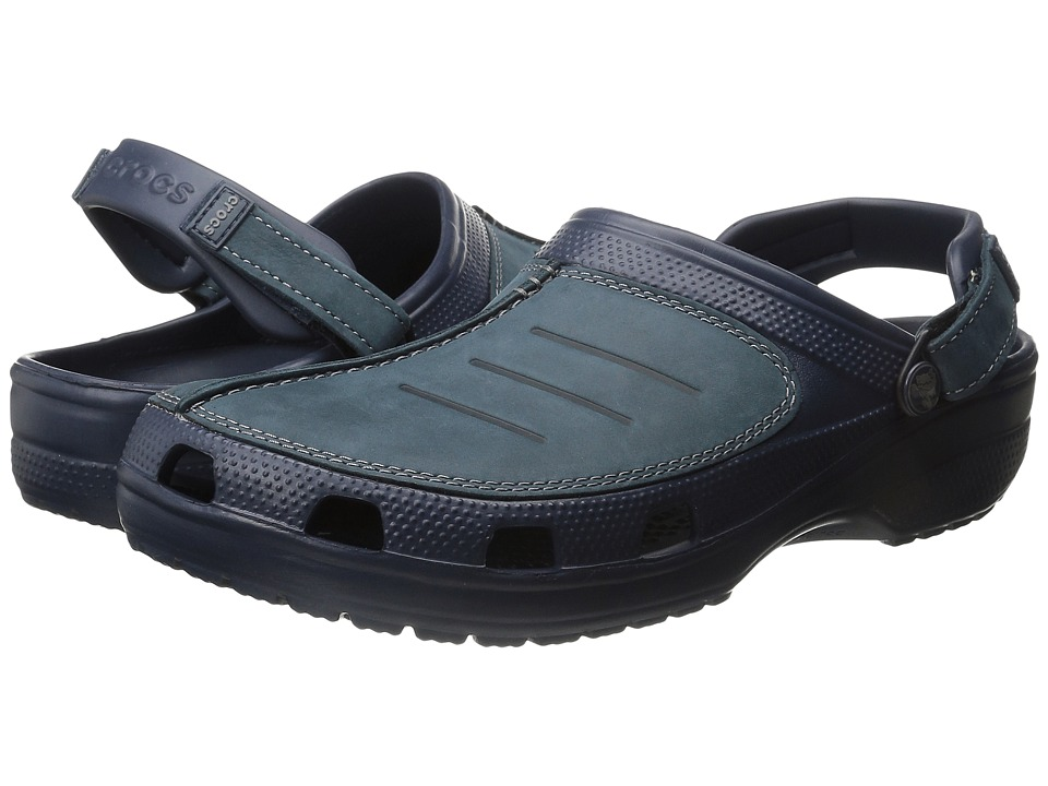 Crocs - Yukon Mesa Clog (Navy/Navy) Men's Clog Shoes